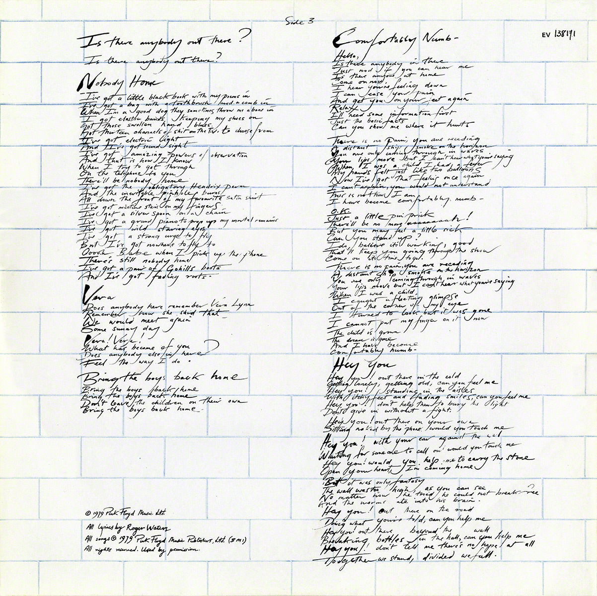 pink floyd archives
