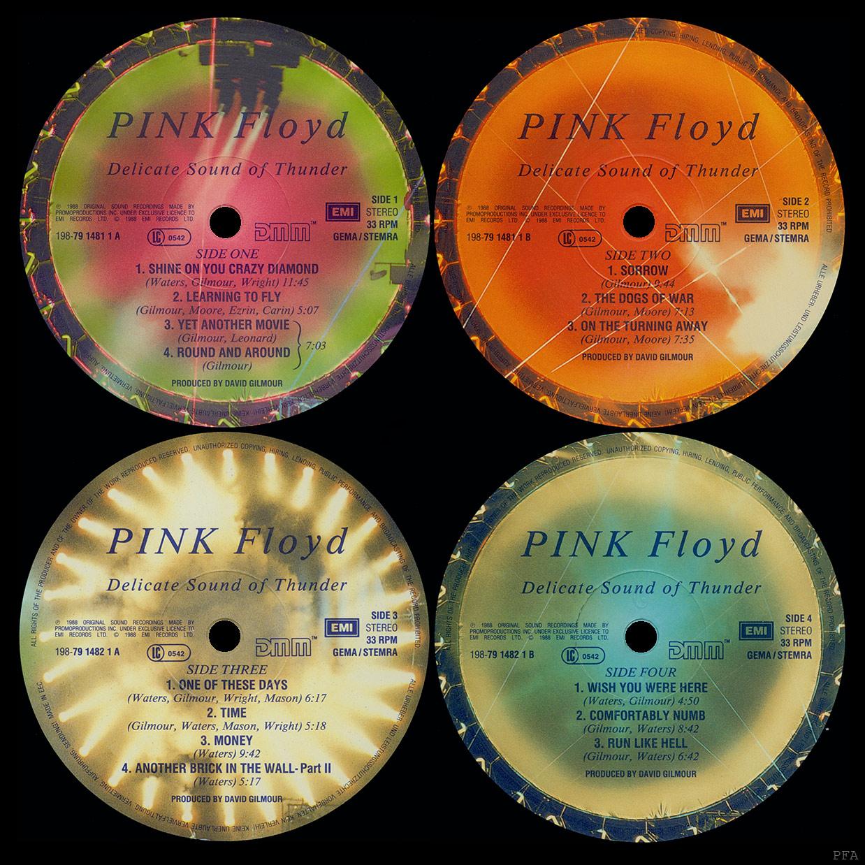 Pink floyd delicate sound of thunder музыка в mp3 -