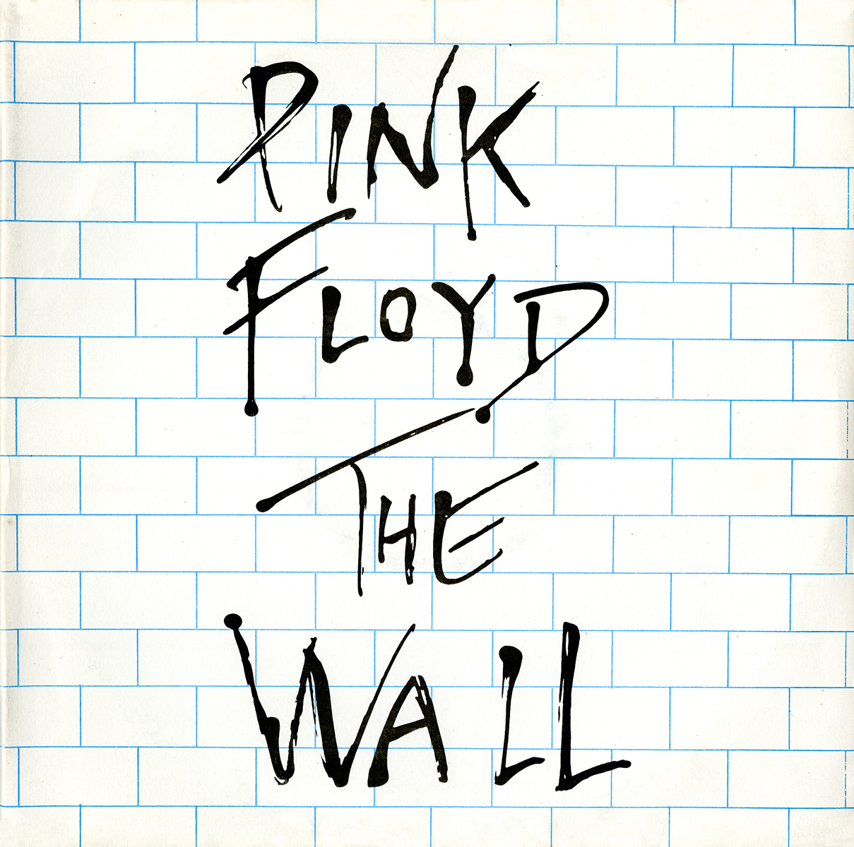 The gallery for --> Pink Floyd The Wall Album Back Cover