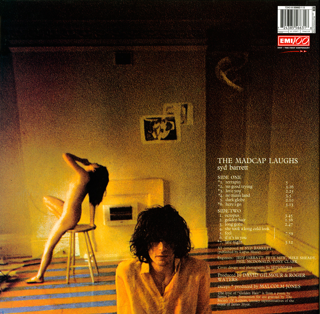 Pink Floyd Archives U K Syd Barrett Lp Discography
