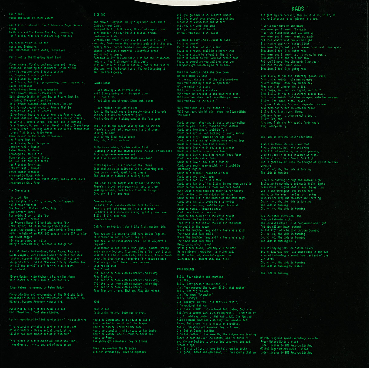Pink Floyd Archives U K Roger Waters Lp Discography