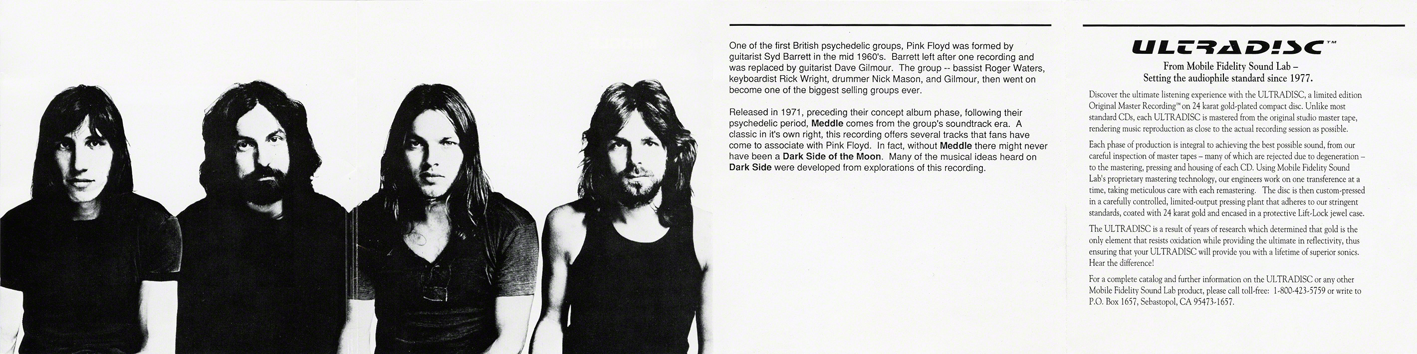 Pink Floyd Archives-MFSL Discography