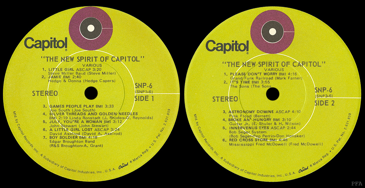 Pink Floyd Archives U S Sampler Lps